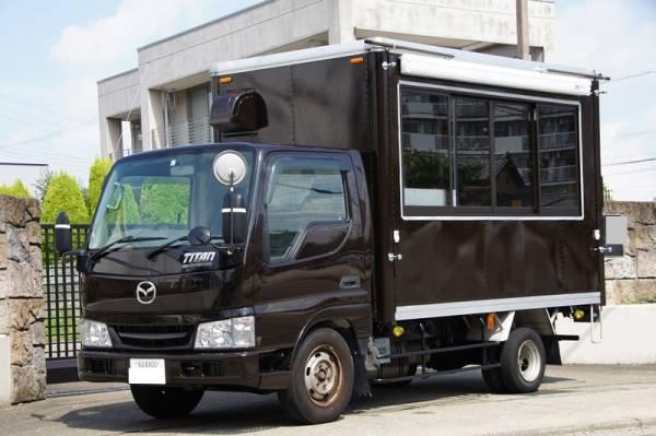 移動販売車 キッチンカー 最安で80万円台から製作可能です ローンOK 8ナンバー2年車検 ダイナ キャンター_ベーストラックを安価にすれば