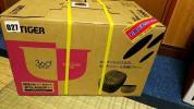 【新品未使用】炊飯器 3.5合 IH 炊飯ジャー JPQ-A060-P タイガー 3年保証付き。