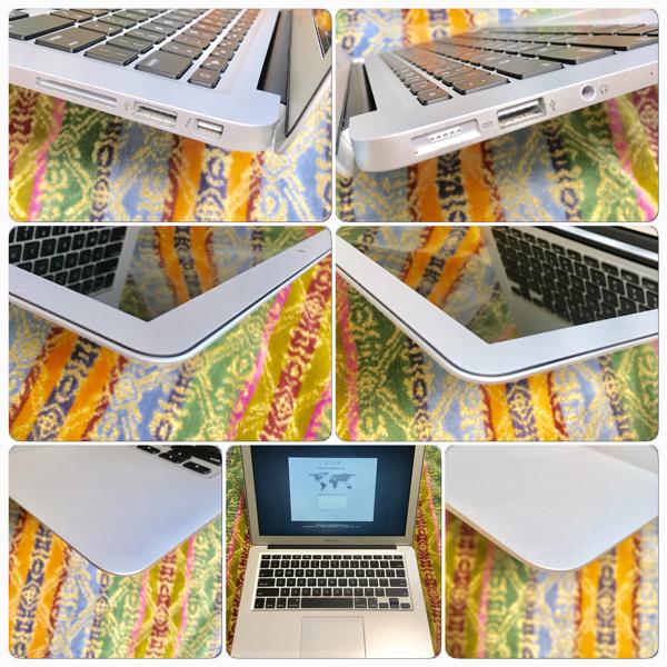 超美品 新品同様 Apple MacBook Air 13inch シルバーSSD128GB/8GB/USキーボード A1466 MMGF2JACTO (Early 2015-2016モデル)_画像2