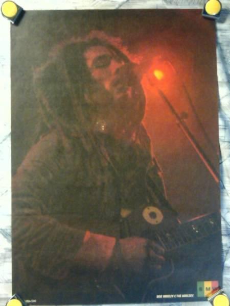 k2【ポスター/B-2-515x728】ボブ マーリー&ザ ウェイラーズ-Bob Marley & The Wailers/販促用非売品ポスター/A
