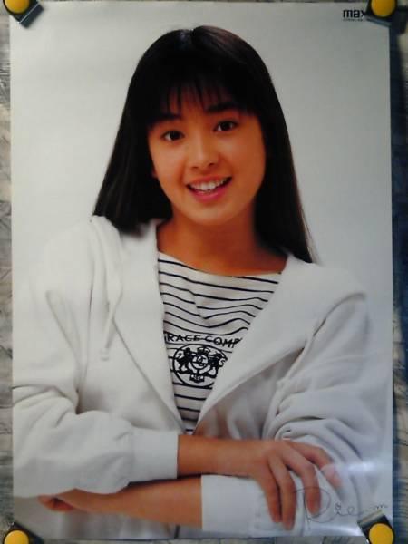 SC【大型ポスター/A1-594x841】宮沢りえ/maxellカセット販促用非売品ポスター/a