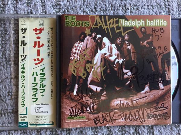 ザ・ルーツ(The Roots)直筆サイン入りCD