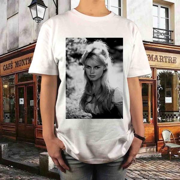 新品 ブリジットバルドー フレンチロリータ Tシャツ S M L XL マリリンモンロー大きい ビッグ オーバー サイズ XXL 3XL 4XL 5XL ロンT 長袖 グッズの画像