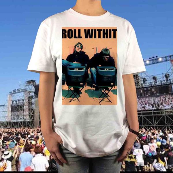 新品 oasis オアシス リアム ギャラガー Tシャツ S M L XL ノエル blur 大きい ビッグ オーバーサイズ XXL 3XL 4XL 5XL ロンT 長袖 黒 対応