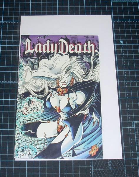 EBA!即決。Lady Death Ashcan Editions Steven Hughes & Jason Jensen CAHOS! COMICS_画像1