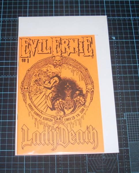 EBA!即決。Lady Death Evil Ernie #1 ASHCAN LIMITED TO 1500 CHAOS! COMICS_画像1