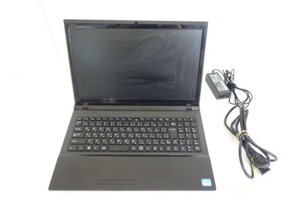 ノートPC CLEVO W255EU ブラック ノート パソコン HDD無 Core i3 D45