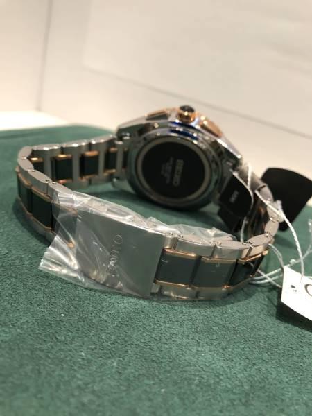 ■新品■SEIKOブライツ ソーラー電波時計 文字盤ダイヤ入り SS+セラミック(SAGA174)_画像3