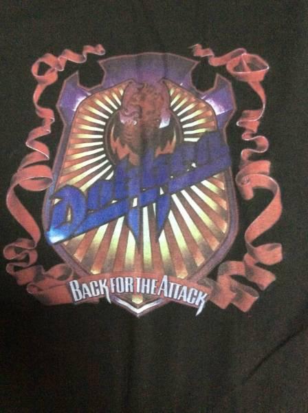★ DOKKEN ドッケン バンドTシャツ ◆L-XL程度◆BACK FOR THE ATTACK◆バックプリント有★