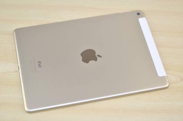 1円~美品 docomo iPad Air2 64GB MH172J/A ゴールド 利用制限○ Wi-Fi+Cellular