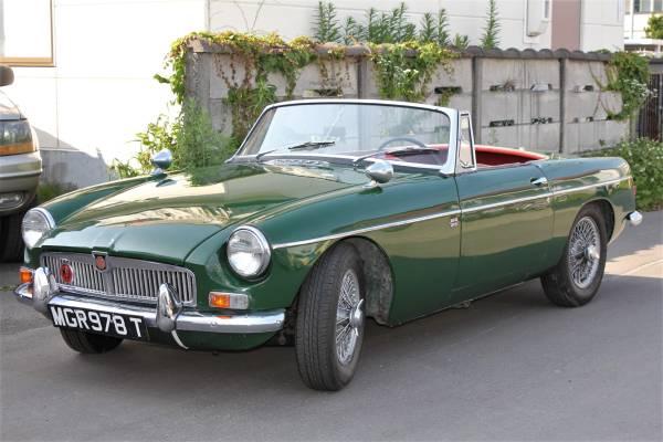 1964年 MG B Mk-1 オリジナル度の高い稀少車です。