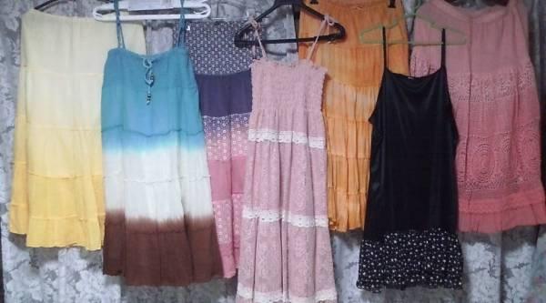 大きいサイズ ロングスカート ワンピース フレア ジレ ベストなど XL 2L フリーサイズ 安室奈美恵LOVE GIRLS MARKETラブガールズマーケット