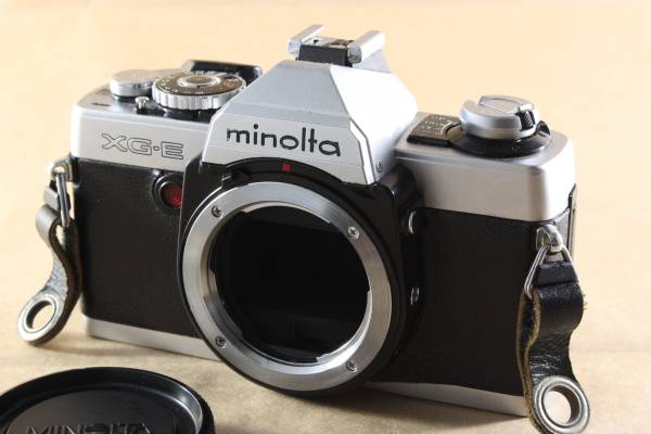 Minolta XG-E ジャンク品扱い ミノルタ