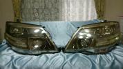 10系 アルファード 純正 後期 HID キセノン ヘッドライト AFS付き 本体のみ 左右セット