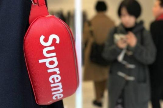 極希少 VIP先行の限定販売品 国内正規品 Louis Vuitton Supreme Bumbag PM ルイ・ヴィト