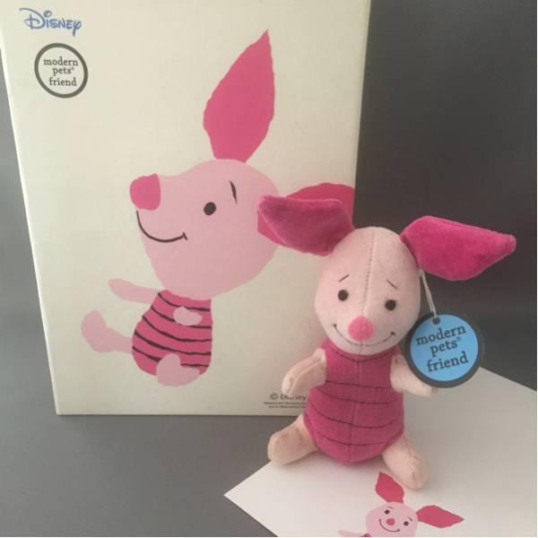【Disney】★くまのぷーさん★ピグレット★modern pets friend ディズニーグッズの画像