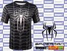 [M]Z3 Spider-Man black M size short sleeves fitness T-shirt Avengers cosplay Jim postage 164 jpy including in a package possible 3