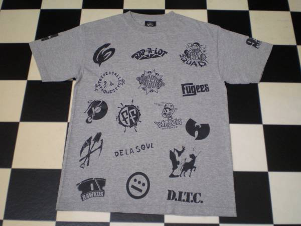 90's ALLSTARS Tシャツ A TRIBE BEATNUTS GANGSTARR FELLOWSHIP WU-TANG RAWKUS D.I.T.C CYPRESS DASEFX OUTKAST DETHROW HIPHOP 稀 激レア
