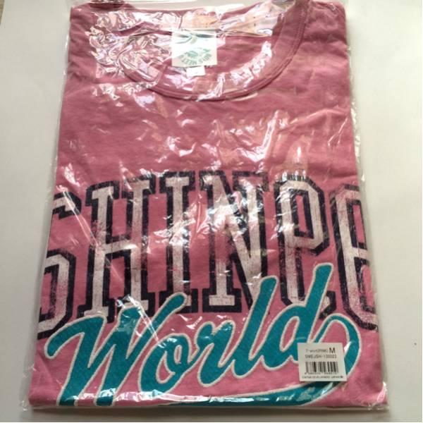 SHINee WORLD 2013 BOYS MEET U JAPAN コンサート グッズ_Tシャツ Mサイズ ピンク★テミン キー KEY オニュ ジョンヒョン ミノ ミンホ