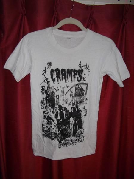 レア CRAMPS クランプス Tシャツ USED パンク PUNK ロカビリー ガレージ
