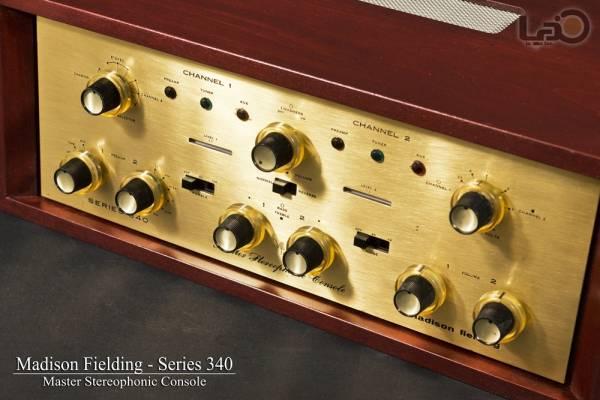 米国Madison Fielding Series 340 プリアンプ Master Stereophonic_画像1