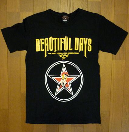 サッズ『 SADS BEAUTIFUL DAYS Tシャツ 』清春・黒夢/日本製