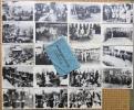 絵葉書■相撲■東京相撲扮擾中の力士会 大12年1月15日-18日迄 三河島工場籠城 19枚袋