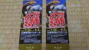メガ 恐竜展 2017 2017年7月25日(火)〜9月3日(日) 招待券 2枚 ペアセット 大阪南港ATC