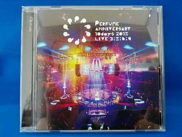 Perfume パフューム Anniversary 10days 2015 PPPPPPPPPP「LIVE 3:5:6:9」(通常版) ライブグッズの画像