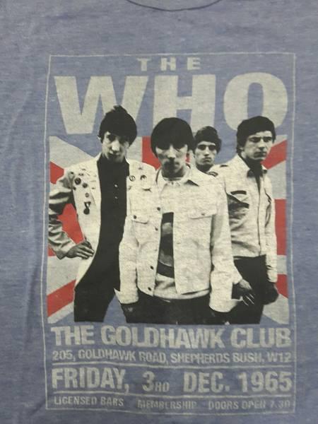 THE WHO☆ザフー☆Tシャツ☆未使用保管品☆M
