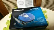 yu.yu*Panasonic 綺麗なポータブルCDプレーヤー CD-R/RW対応 動作確認品 最盛期のプレーヤーです