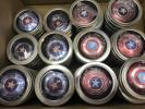 【即納】★40個★ ハンドスピナー セット キャプテン・アメリカ レッド/ブルー まとめ売り 新品 高品質 (送料無料)