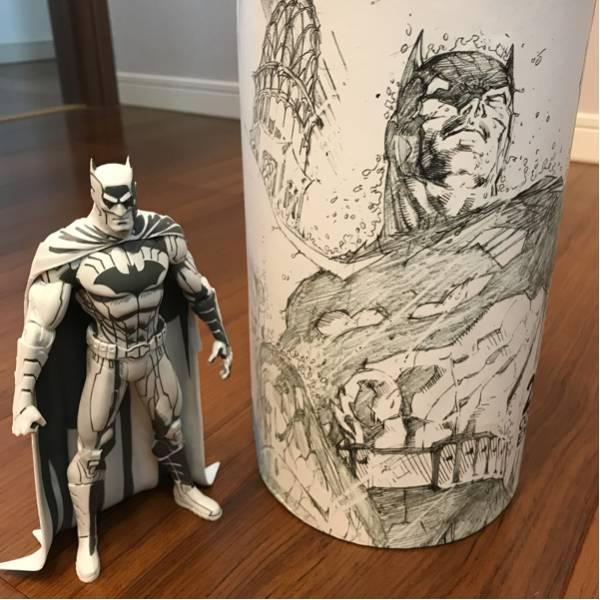 2015 コミコン限 DCコミックス ブルーライン/ ジム・リー バットマン アクションフィギュア グッズの画像