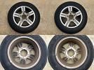 SUZUKI スズキ JIMNY ジムニー JB23 ワイルドウインド 純正アルミホイール・タイヤ 2本セット タイヤ製造週 2010年9週×1、2010年12週×1