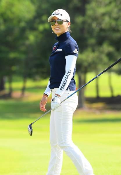 ユン・チェヨン A4判写真1枚 女子ゴルフ ⑦