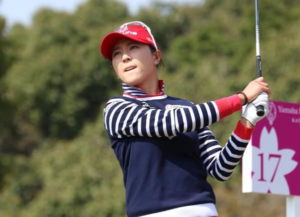 ユン・チェヨン A4判写真1枚 女子ゴルフ ①