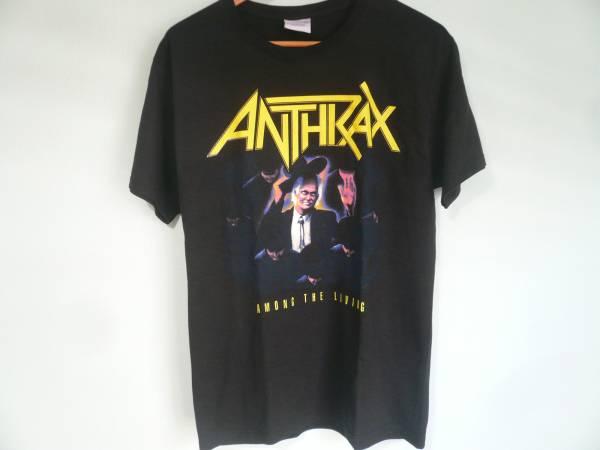 ANTHRAX アンスラックス アモングザリビング Tee / 80s 90s スラッシュ メタル METAL ROCK BAND バンド