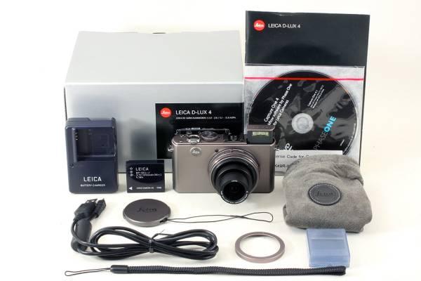 【1000台限定!チタンモデル!】 ライカ LEICA D-LUX 4 696 Titanium DC VARIO-SUMMICRON 5.1-12.8mm F2.0-2.8 ASPH. Titane