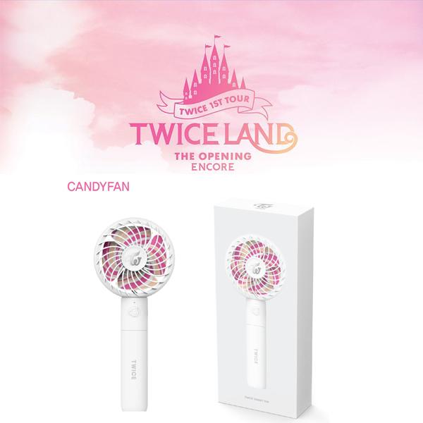 公式) TWICE/トゥワイス★公式グッズ CANDY FAN ハンディー 扇風機 新品