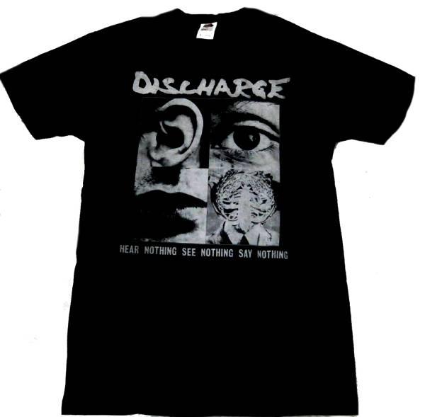 即決!DISCHARGE Tシャツ XLサイズ 新品【送料164円】