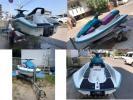 【中古艇】 ヤマハ MJ-VN700 & 【中古車 】軽自動車ボートトレーラセット売り