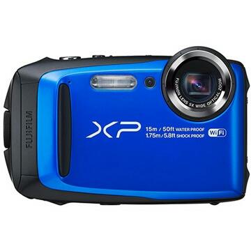 【新品未開封】富士フイルム FUJIFILM デジタルカメラ XP90 防水 ブルー FX-XP90BL