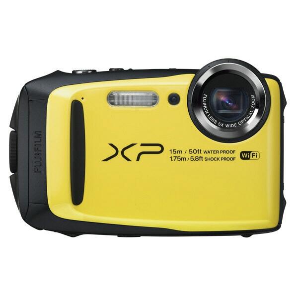 ★送料無料★【新品未開封】富士フイルム FinePix XP90 FUJIFILM デジタルカメラ 防水カメラ イエロー FX-XP90Y