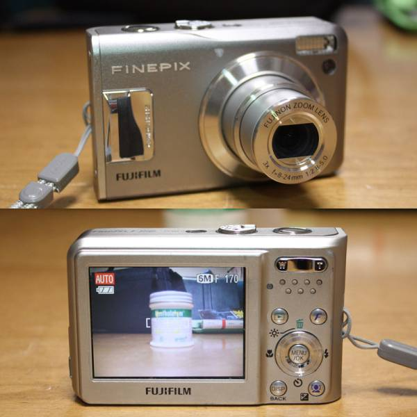 FinePix F31fd 動作品 xDカード付
