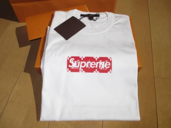 ルイ・ヴィトン supreme box Logo Tシャツ XS 新品未使用
