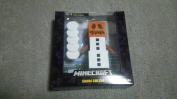 スノーゴーレム マインクラフト ベーシックアクション フィギュア Minecraft グッズの画像