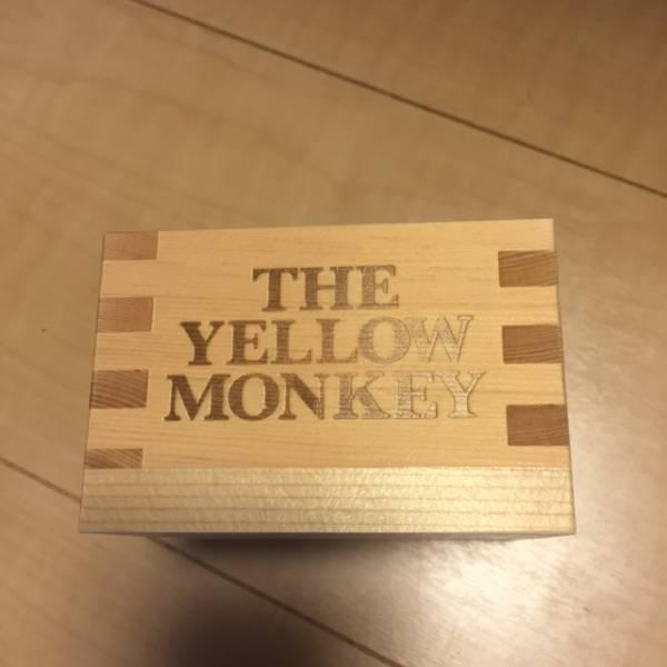 THE YELLOW MONKEY SUPER JAPAN TOUR 2016 イエモン 記念枡 枡 おかき無し ライブグッズの画像