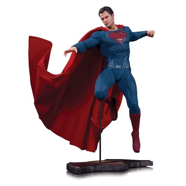 『バットマン vs スーパーマン ジャスティスの誕生』DCコミックス スーパーマン スタチュー グッズの画像