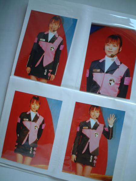◇菊地美香 デカピンク イベント撮影 生写真(イベント個人撮影) 4枚セット③ /特捜戦隊デカレンジャー