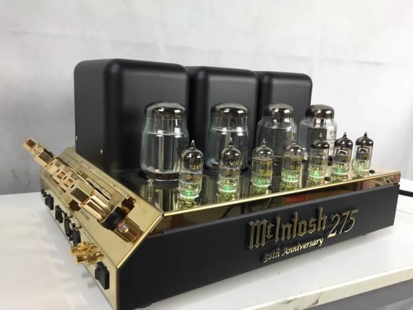 □■McIntosh マッキントッシュ  MC275LE  50周年275台限定モデル パワーアンプ ABH1522 付属品ほぼ完備 極美品□■